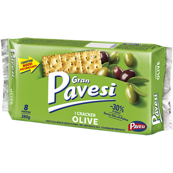 Crackers with Olives
