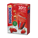 Strawberry Ice Lollies for Home Freezing