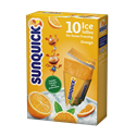 Orange Ice Lollies for Home Freezing