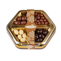 Assorted Dried Fruits Covered with Chocolate