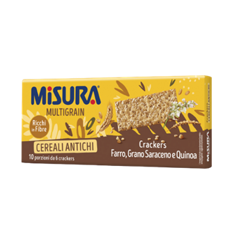 Crackers de Cereais Multigrain